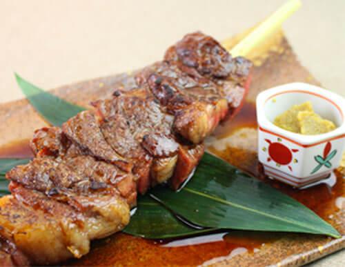 いのしし肉の串タレ焼き
